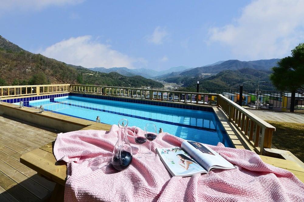 Kondominium, jet tub (with Terrace) - Kolam renang pribadi