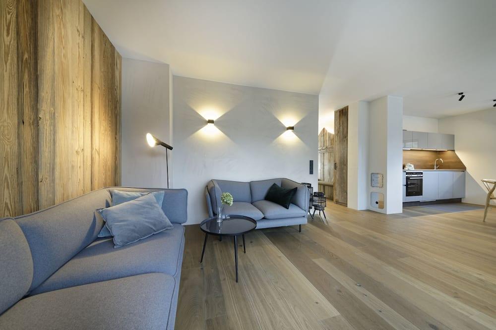 Appartamento (Gartenwohnung) - Area soggiorno