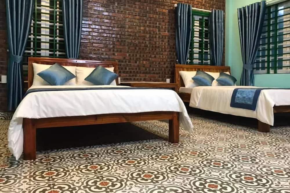 ห้องเบสิก, เตียงควีนไซส์ 2 เตียง - ห้องพัก