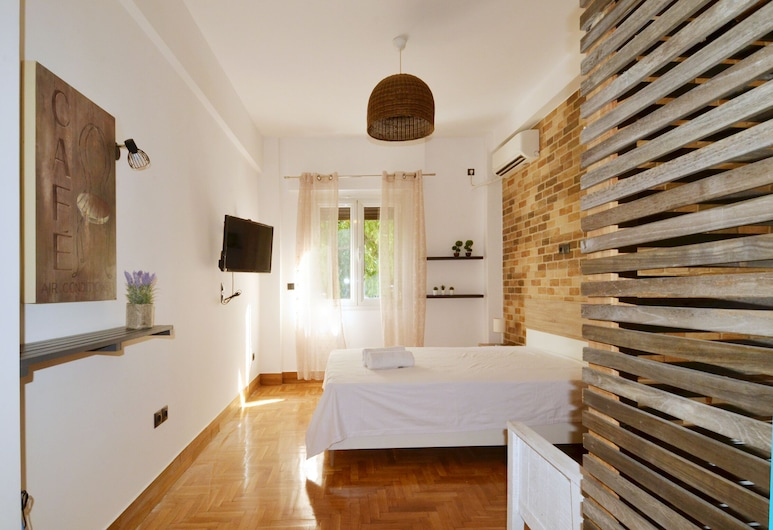 A modern rustic cosy apartment, Athen, Apartment, 1 Schlafzimmer, Balkon, Zimmer