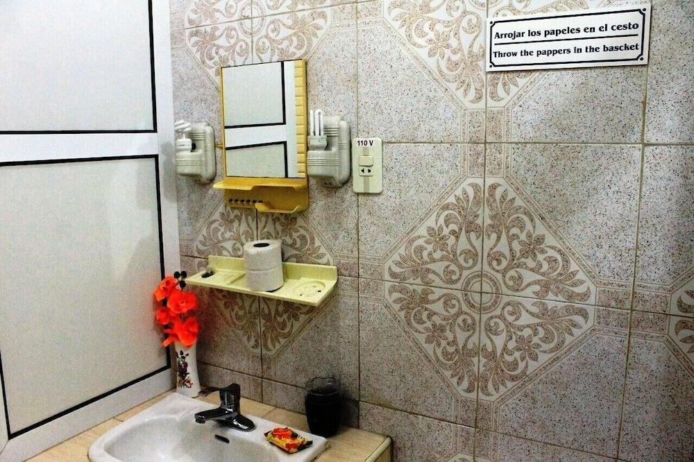 Elitinės klasės dvivietis kambarys - Vonios kambarys