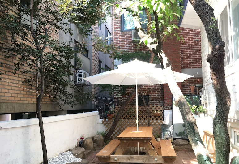 Aron guest house - Hostel, 首爾, 庭園