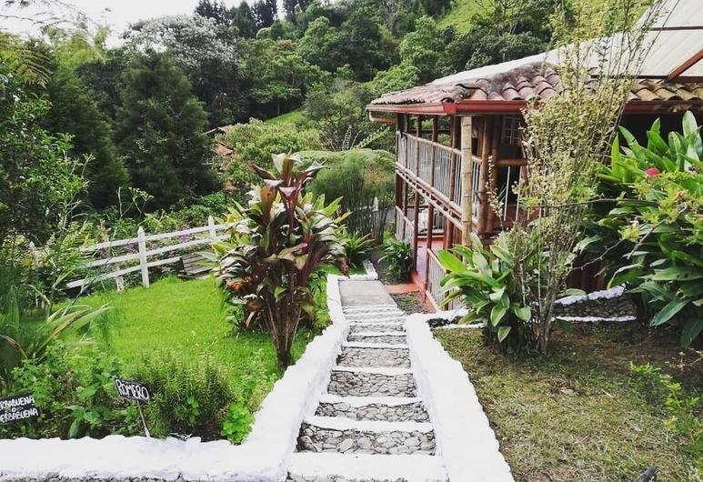 Hospedaje El Mirador, Santa Rosa de Cabal, Terraza o patio