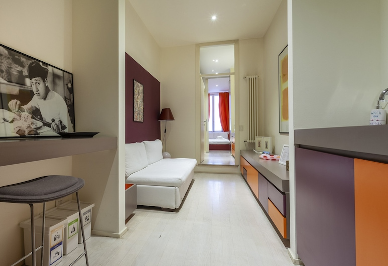 Italianway - Garibaldi 46 A, Milanas, Apartamentai, 1 miegamasis, Svetainė