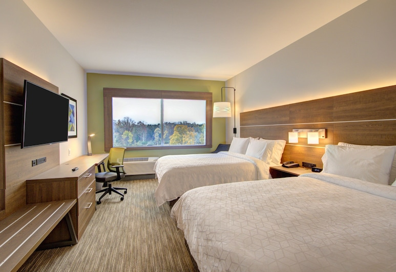 Holiday Inn Express And Suites Charlotte Southwest, Charlotte, Standard Room, 2 Queen Beds, Non Smoking, Lake View, Guest Room