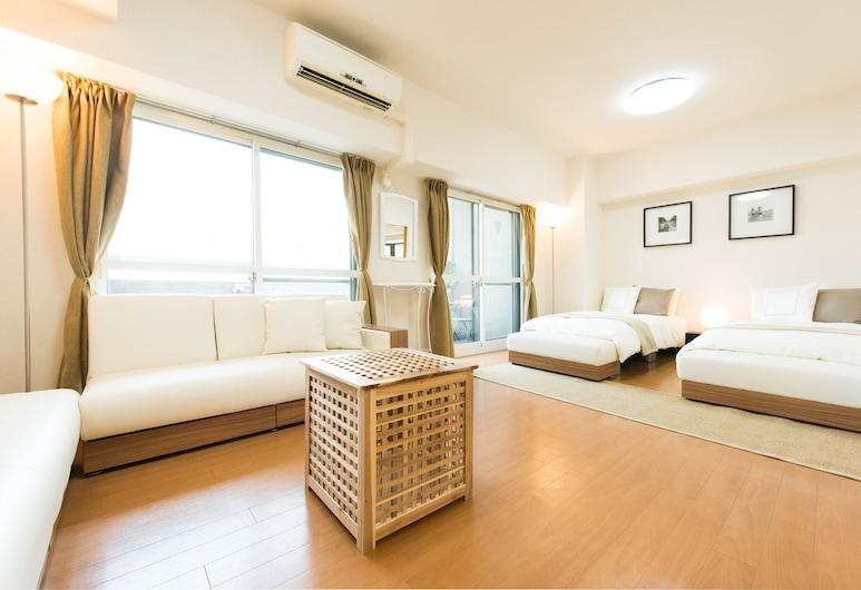 City Hotel Namba Ⅰ, Osaka, Apartamentai, 2 miegamieji, Svetainė