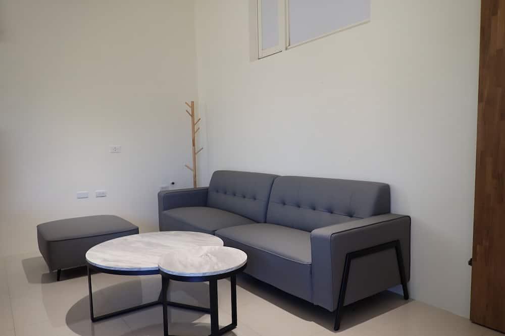 Studio Suite tiện nghi đơn giản, Phòng tập thể nam và nữ, Không hút thuốc, Bếp - Khu phòng khách