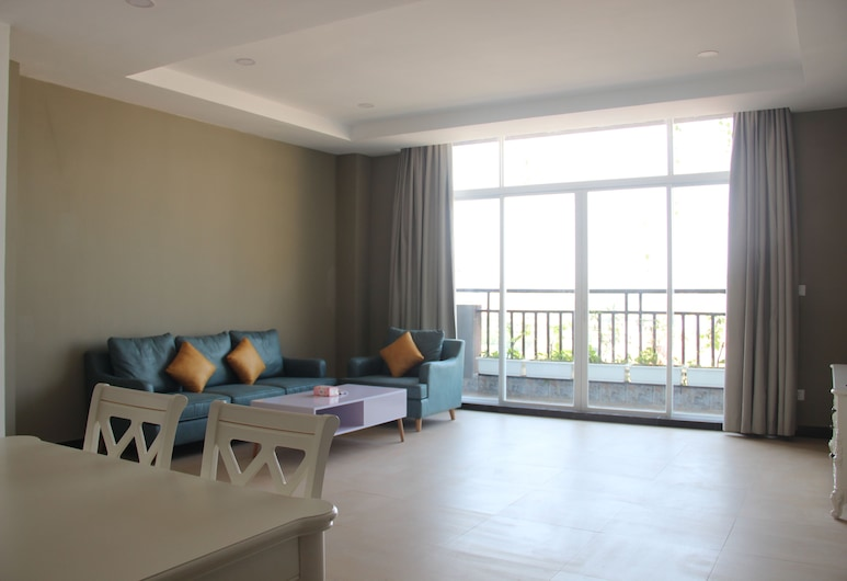 LH Residence, Phnom Penh, Apartment, 1 Schlafzimmer, Wohnbereich