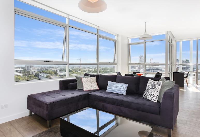 As the Sun Sets, Zetland, Executive Apartment, Living Room
