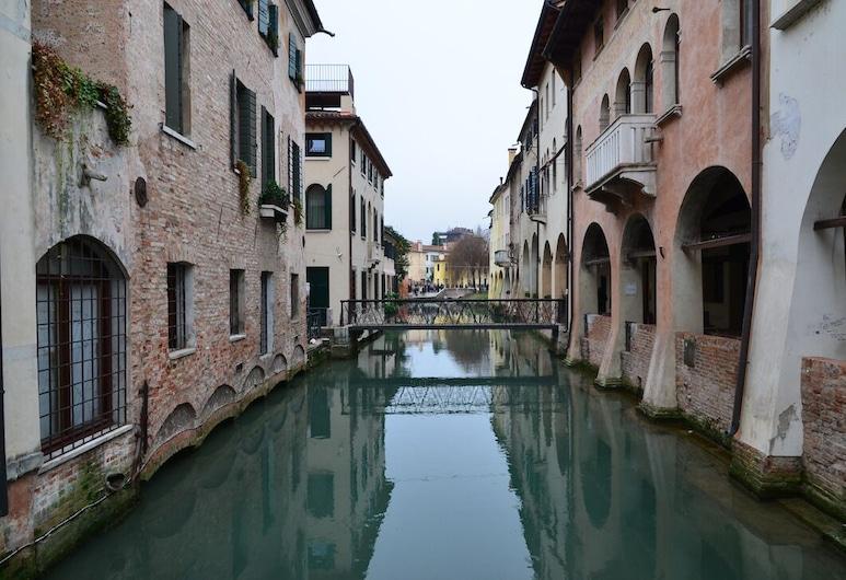 Domus Buranelli, Treviso, Deluxe-Apartment (1), Blick auf die Stadt