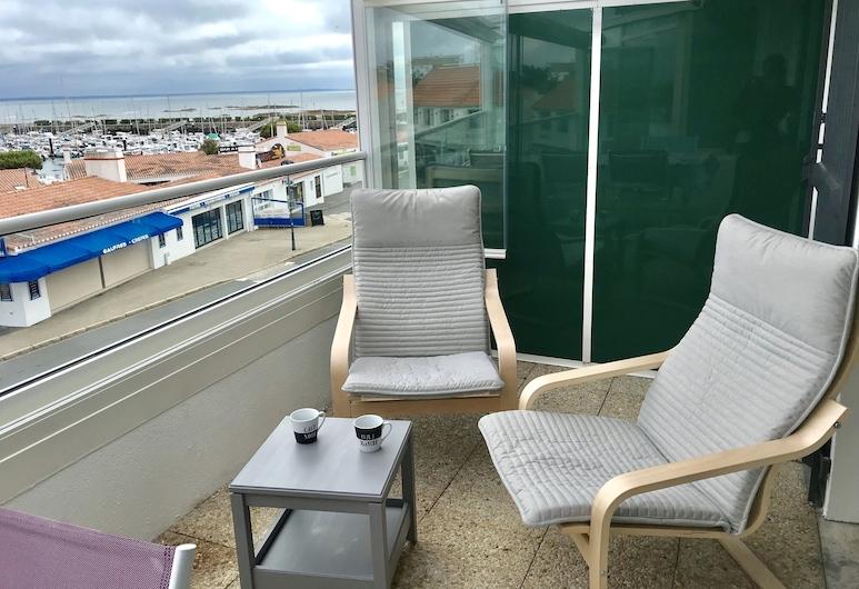 Appartemment Vue Mer, Noirmoutier-en-l'Île, Deluxe-Apartment, Balkon