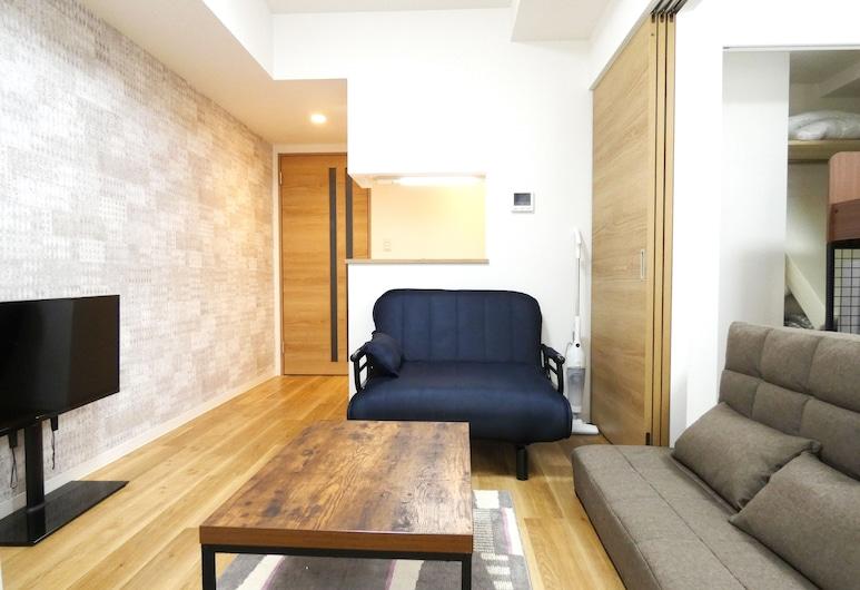 Alpha Square Minami 6 jo 502, Sapporo, Living Room
