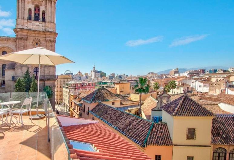 Suncity Terrace and Cathedral Apartment, Málaga, อพาร์ทเมนท์, 2 ห้องนอน, ระเบียง, วิวเมือง, วิวเมือง