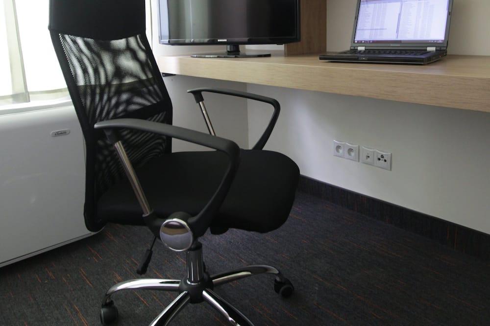 Pokój dla 1 osoby o podstawowym wyposażeniu - Powierzchnia mieszkalna