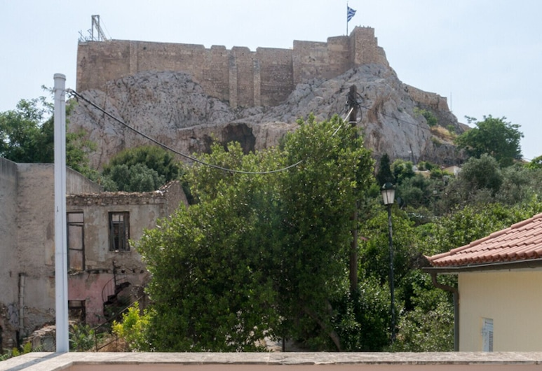 Acropolis View Lodge Central Athens, أثينا, شُرفة