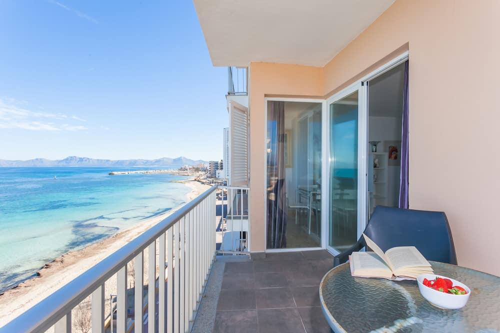 apartman, 2 hálószobával, erkély, kilátással a tengerpartra - Kiemelt kép