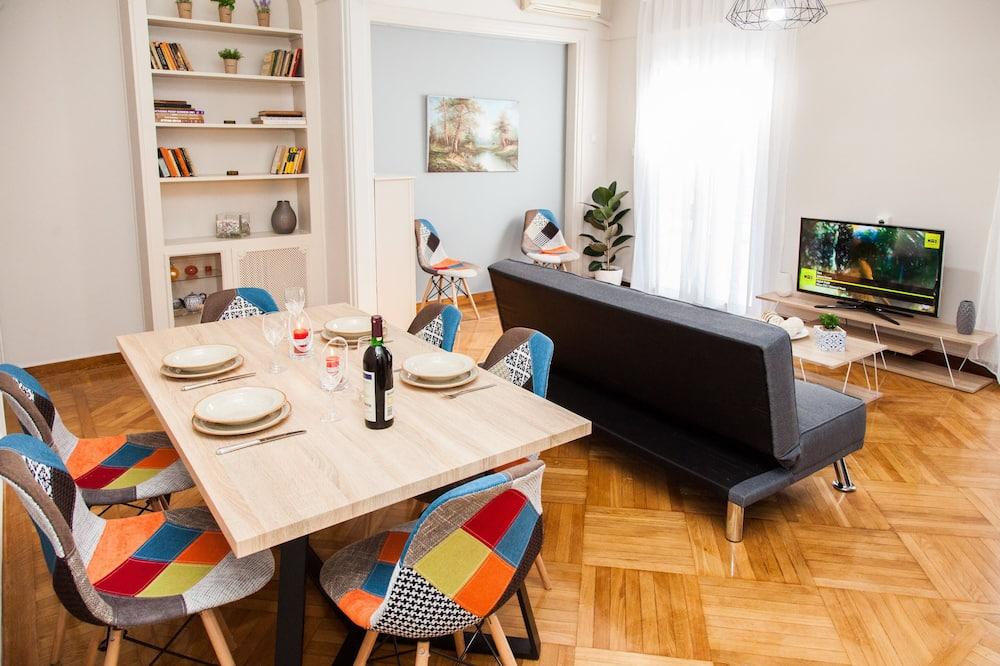 Apartamento, 3 Quartos - Refeições no Quarto