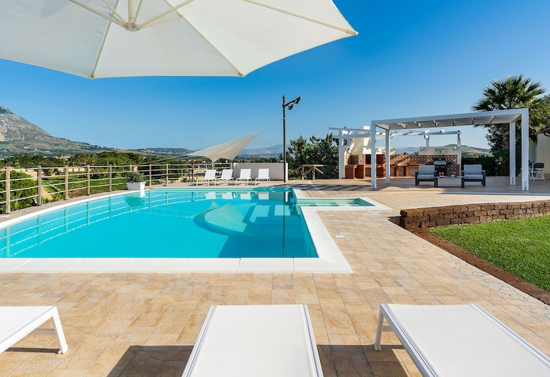 Villa Cielo, Paceco, Vonkajší bazén
