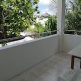 Deluxe kamer, 1 twee- of 2 eenpersoonsbedden - Uitzicht vanaf balkon
