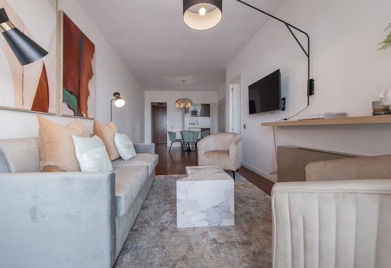 Alterhome Apartamento Plaza de Castilla III, Madrid, Apartment, 1 Schlafzimmer, Wohnzimmer