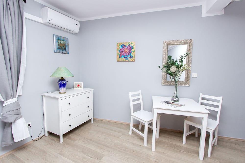 Двухместный номер с 1 или 2 кроватями (Slavka) - Зона гостиной