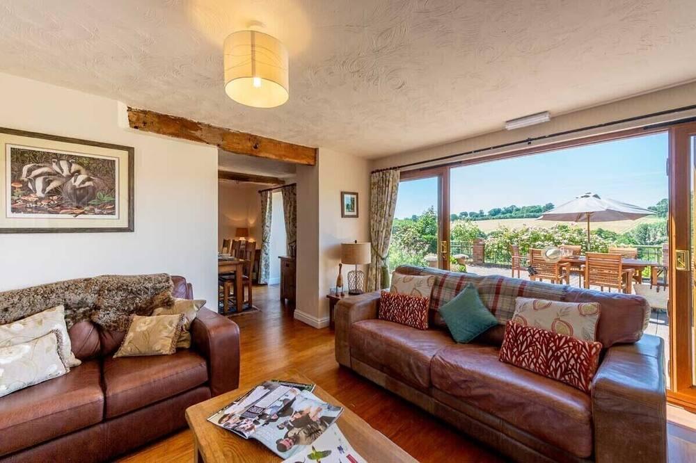 Cottage, 3 phòng ngủ (Cart) - Khu phòng khách