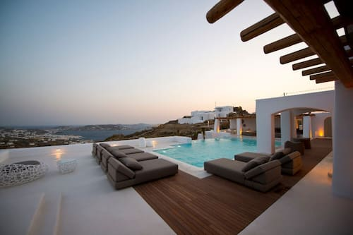 Villa Zircon 7 Bedroom Villa In Tourlos With Private Pool In Mykonos Hotels Com