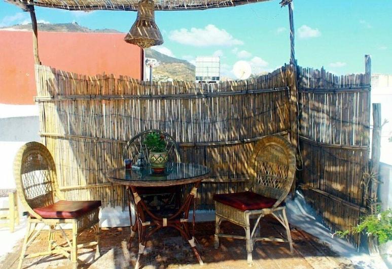 Riad Khmisa, Tetuán, Terraza o patio