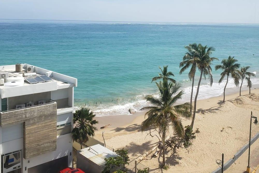 Apartamentai, 1 miegamasis, vaizdas į paplūdimį - Paplūdimys