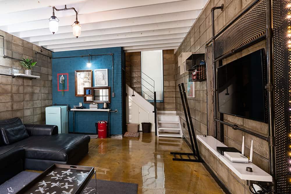 Dúplex, 1 habitación (Blue Pop) - Zona de estar
