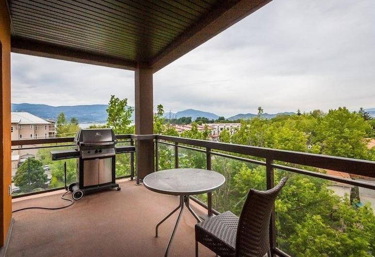 Corner Apartment With Lake View #518, Kelowna, Balkon