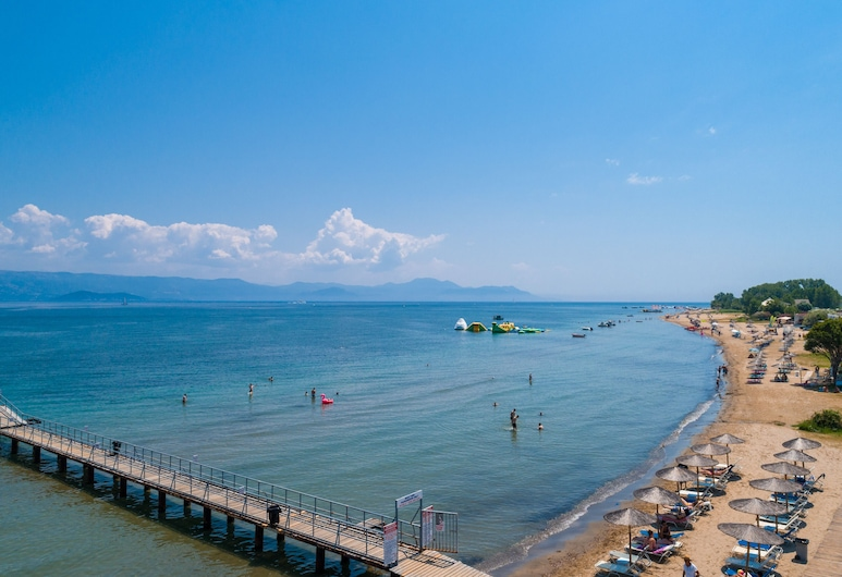 Paralia Studios, Corfu, Pantai
