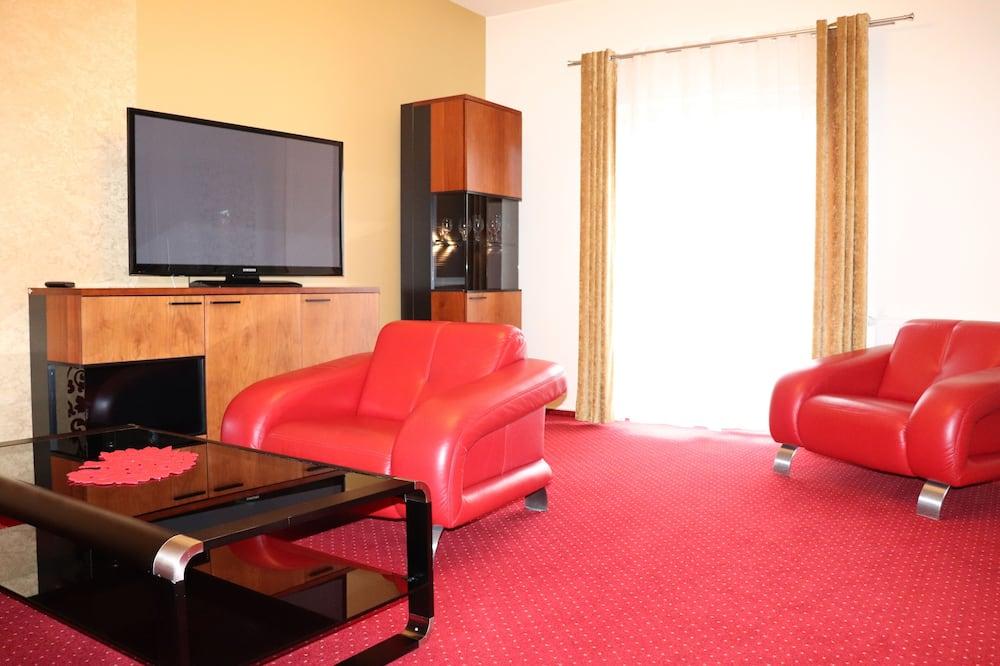 Luksusa dzīvokļnumurs - Dzīvojamā istaba
