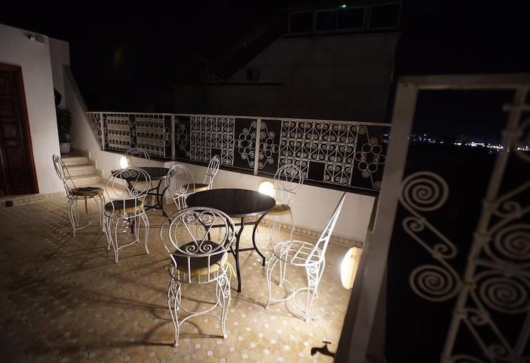 The Riad Hostel Tangier, Tanger, Taras na dachu