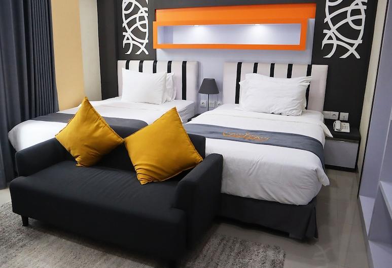 Aidia Grande, Метро, Улучшенный двухместный номер с 1 или 2 кроватями, Номер