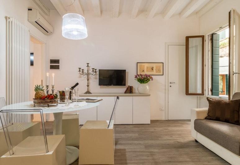 Ca Rettore, Venice, City Apartment, 1 Bedroom, Living Area