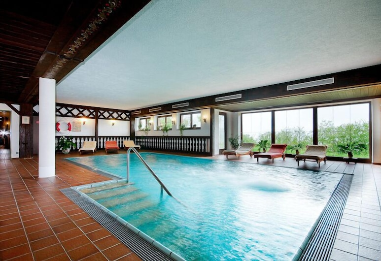 Alpenhotel Denninglehen, 柏特斯加登, 室內游泳池