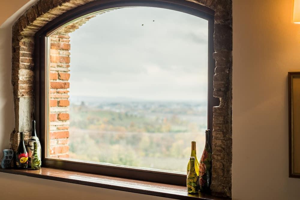 غرفة مزدوجة مريحة - منظر للتل - منظر من غرفة الضيوف