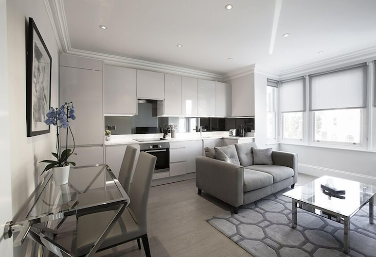 Ealing Apartments, London, Deluxe-Apartment, Wohnbereich