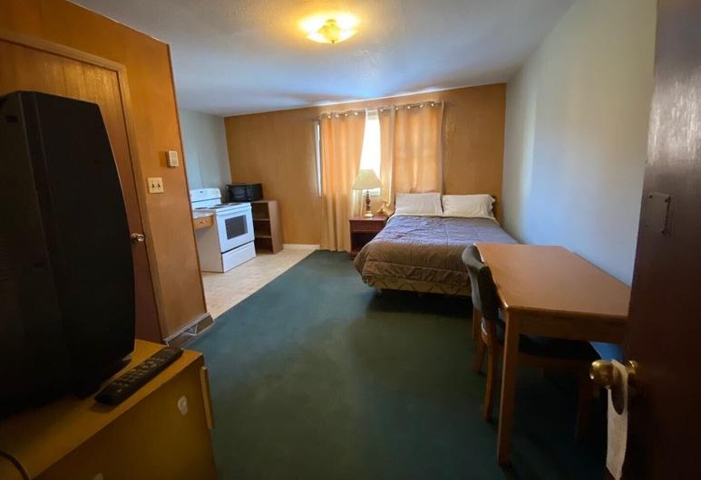 Uptown Motel, 埃斯特萬, 基本客房, 1 張加大雙人床, 客房