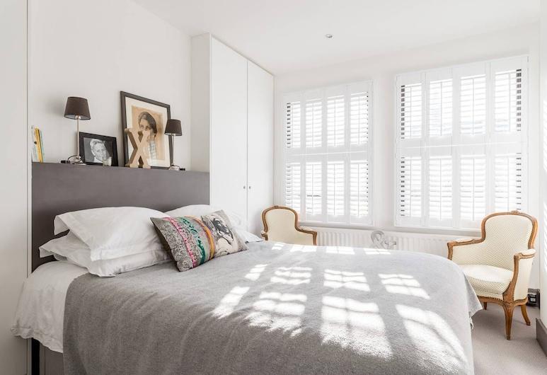 スタイリッシュ フールハム 2 ベッド ロフト フラット 5 ミン フロム チューブ, ロンドン, アパートメント (2 Bedrooms), 部屋