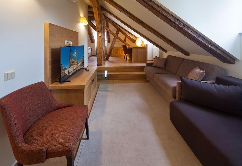 Residence Prague Inn, Praga, Executive Apartment (2), Sala