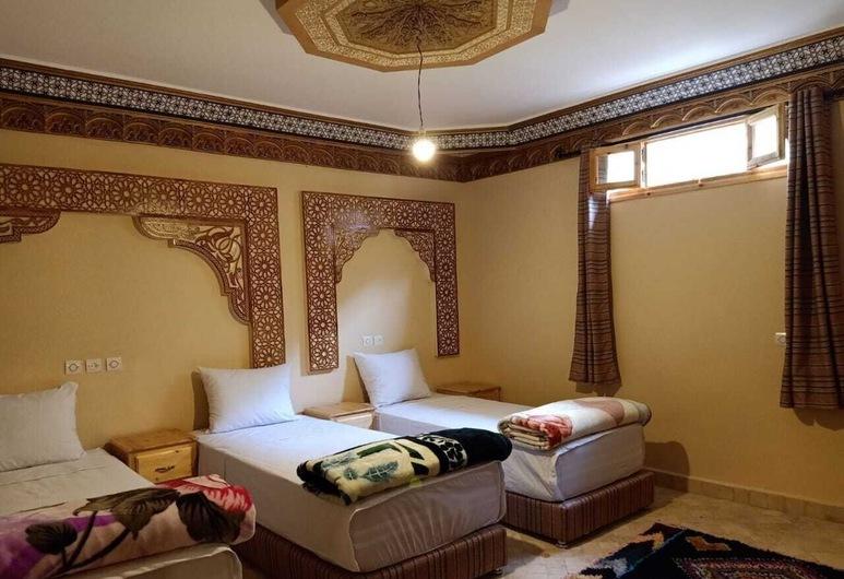 Toubkal Resting Lodge, Asni, Dreibettzimmer, Zimmer