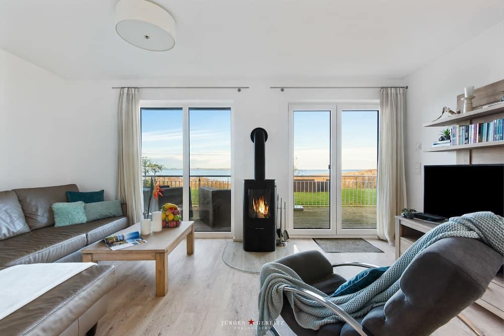 Ferienhaus Maison de la mer - Living Area