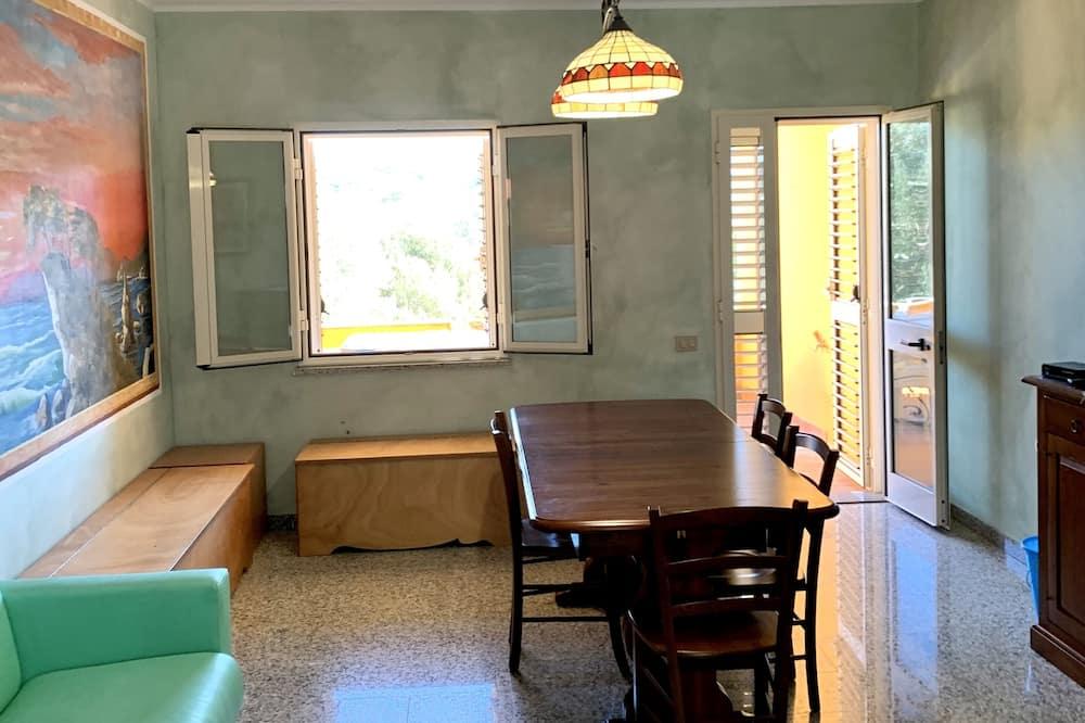 Rodinný apartmán, terasa (6 Adults) - Obývacie priestory