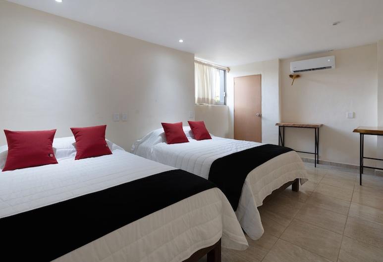 Capital O Ashly Loma Larga, Acapulco de Juárez, Habitación estándar, 2 camas dobles, Habitación
