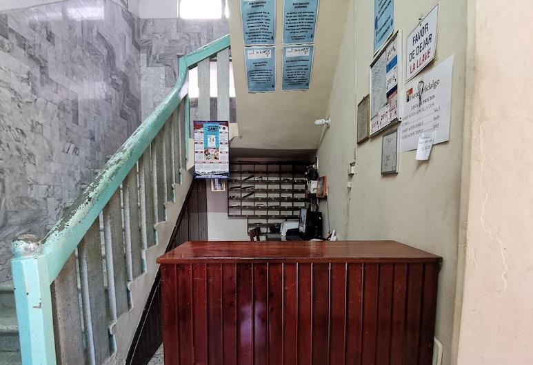 Hotel Hidalgo, Paraiso, Rezeption