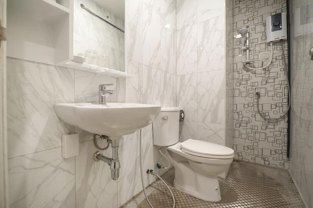 ห้องดีลักซ์ทวิน - ห้องน้ำ