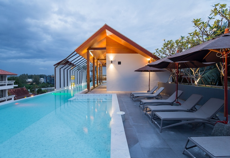 Palmyrah Surin Beach Residence, Choeng Thale, Rooftop Pool
