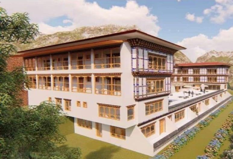 Hotel River Valley, Punakha, ด้านหน้าของโรงแรม